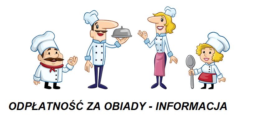 Odpłatność za obiady w miesiącu wrześniu - informacja